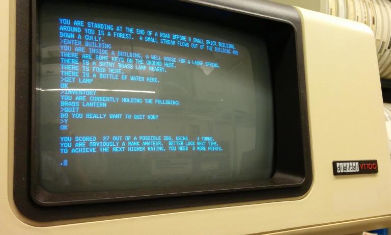 DEC VT-100 terminal