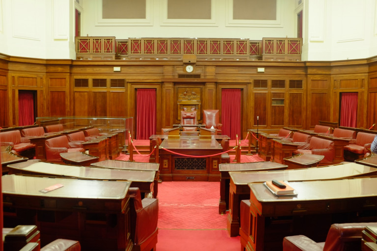 senate chamber in old parliament house