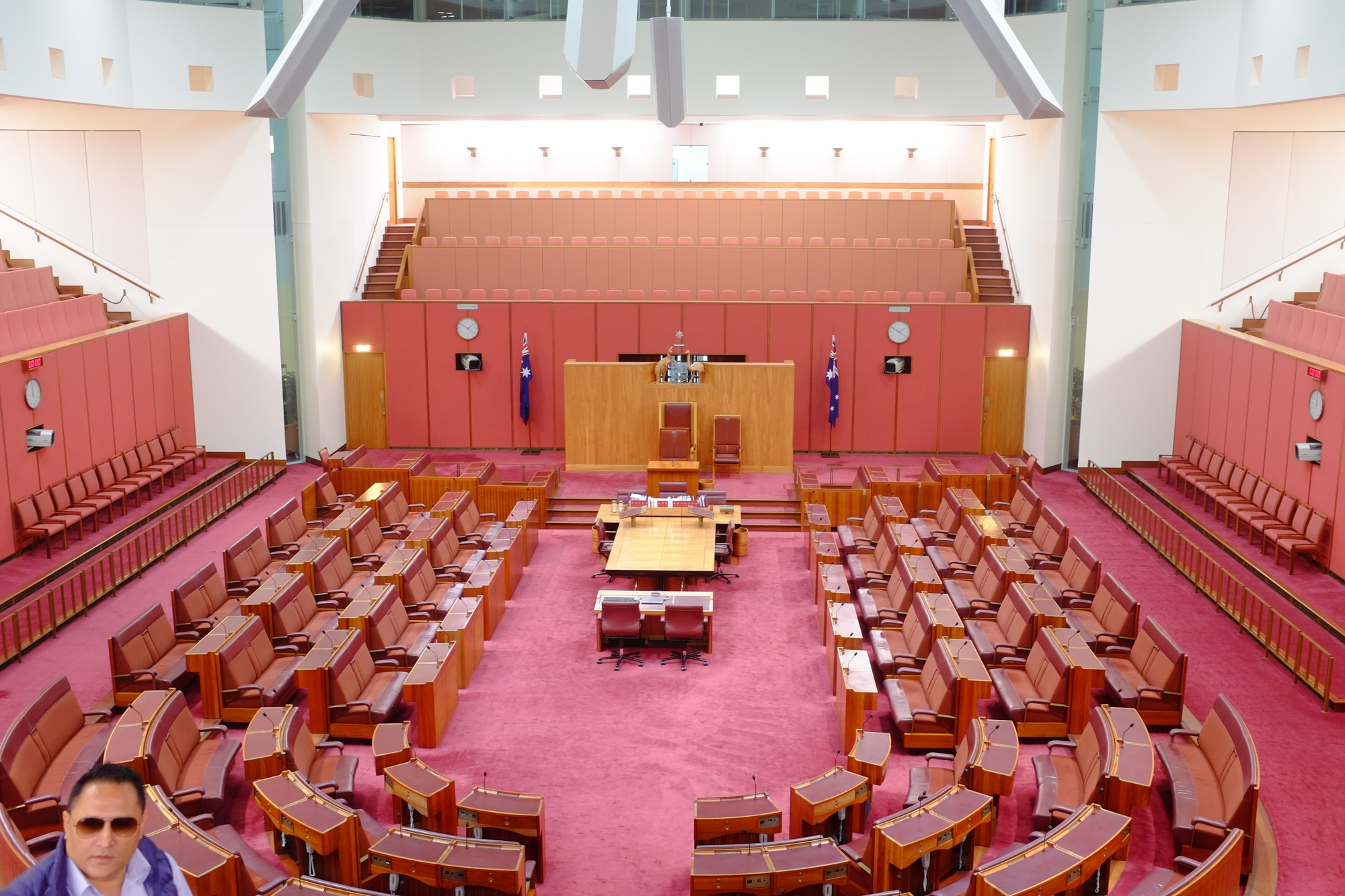 senate chamber in parliament house