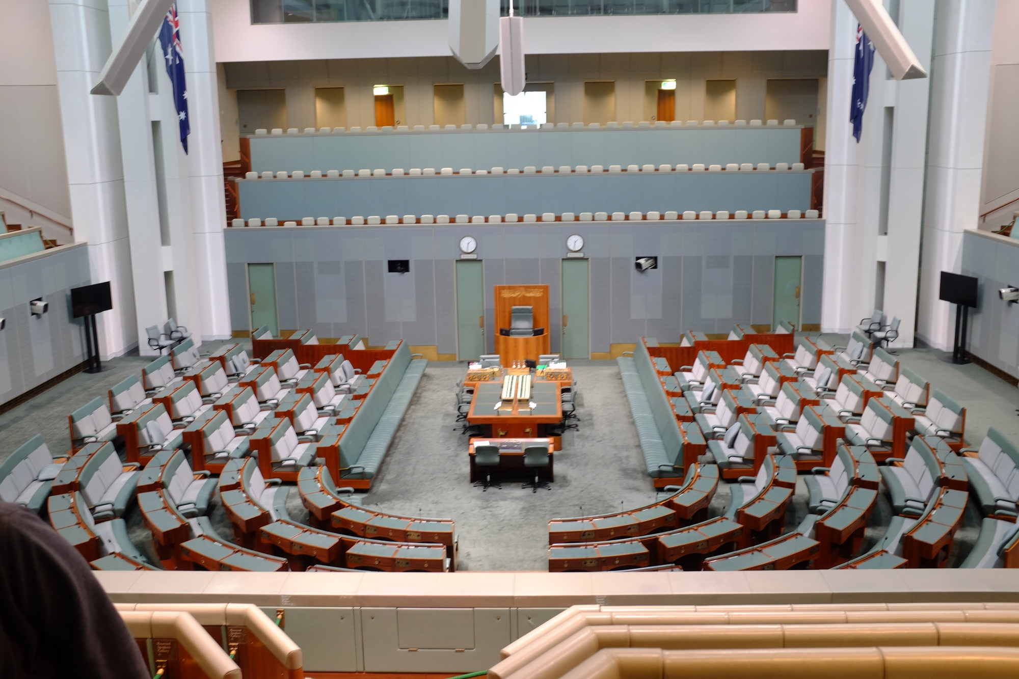 house of representatives chamber in parliament house