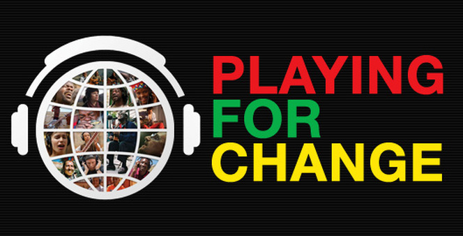 playing for change banner