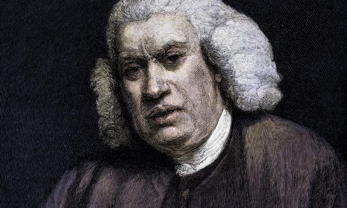 engraved image of samuel johnson