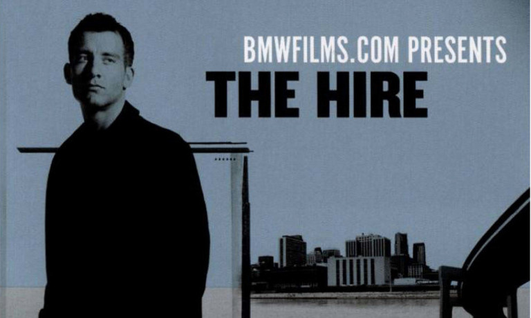 cover art for BMW's the Hire video series