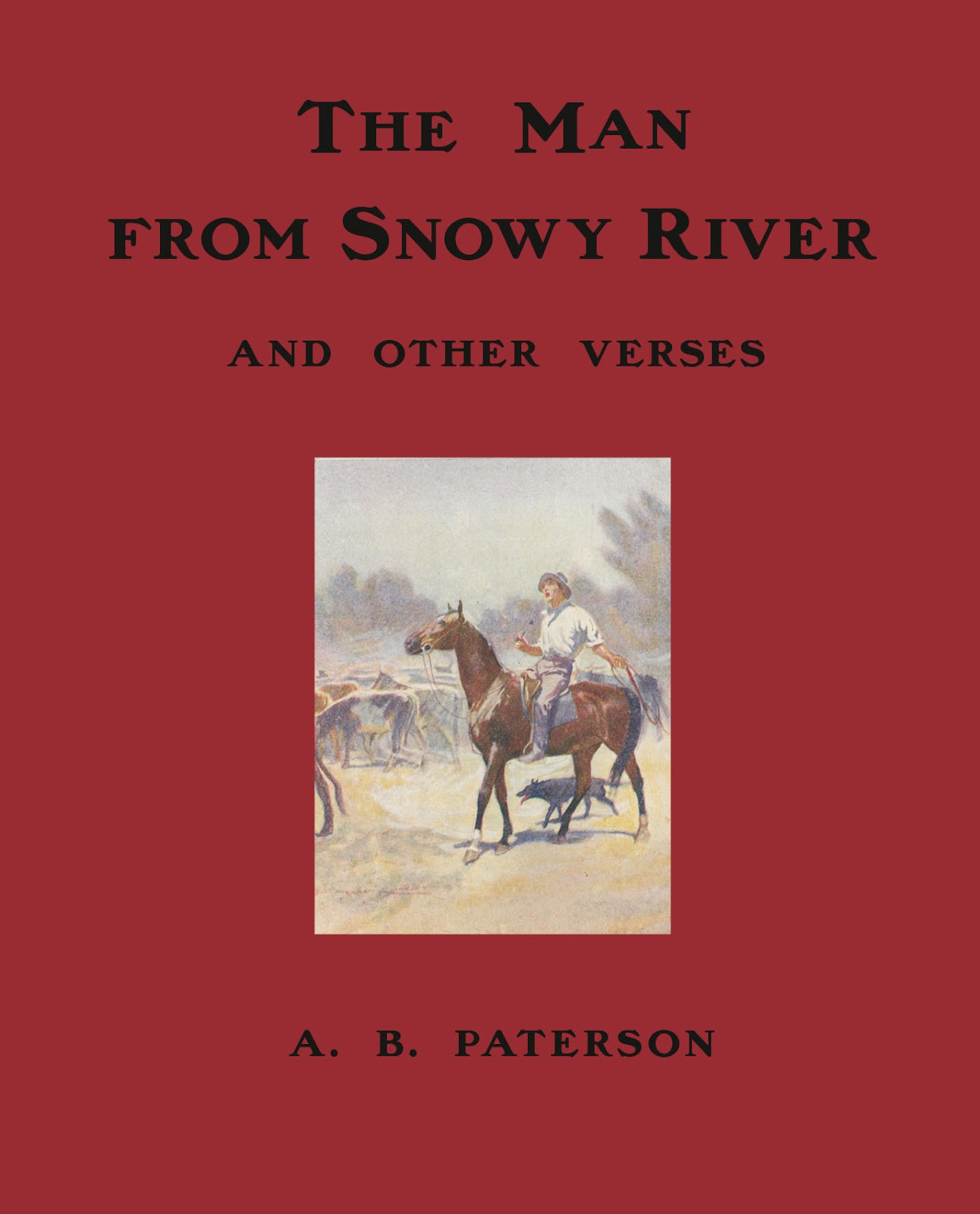 cover of the Man From Snowy River book