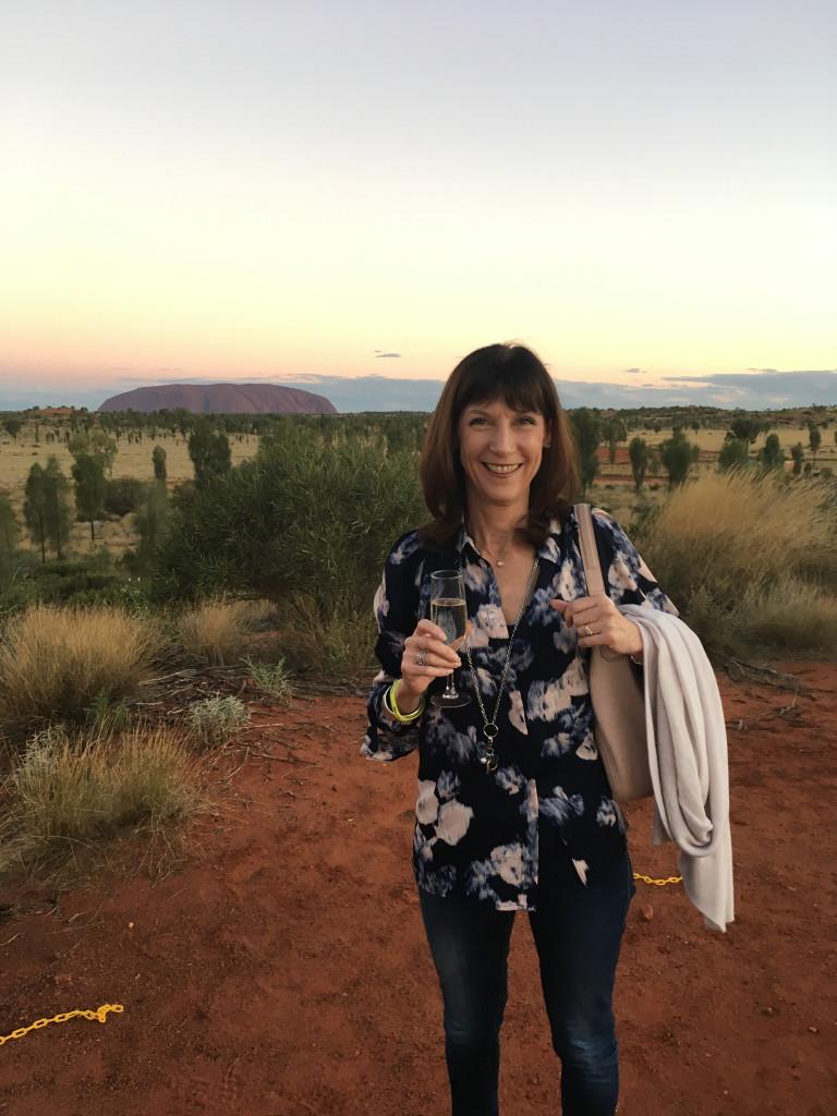 karenne at Uluru