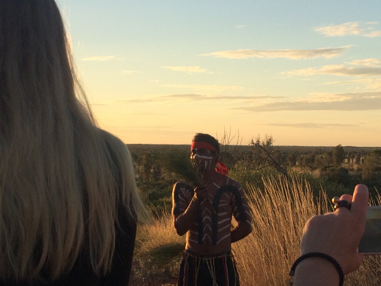 indigenous hunting dance