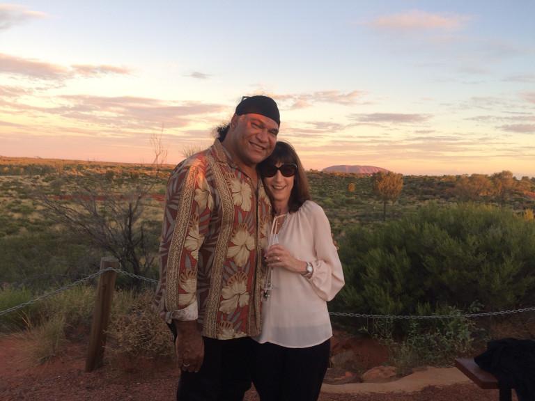 Karenne and Mark Olive
