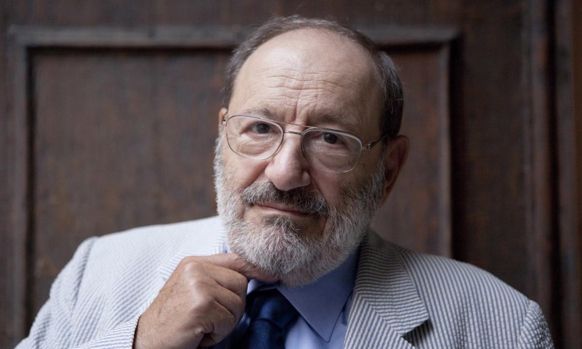 headshot of Umberto Eco